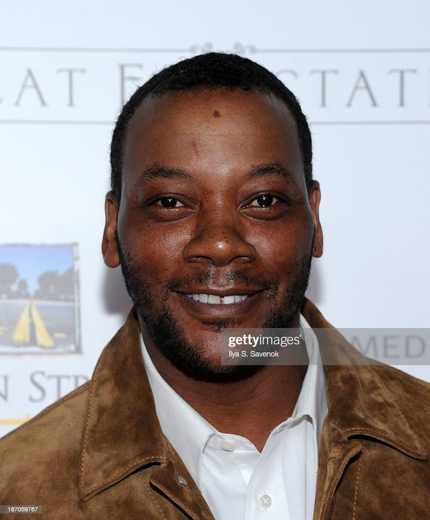 Actor Erik Laray Harvey attends the New York premiere of 'Charles Dickens' Great Expectations' at AMC Loews Lincoln Square 13 theater on November 5, 2013 in New York City.