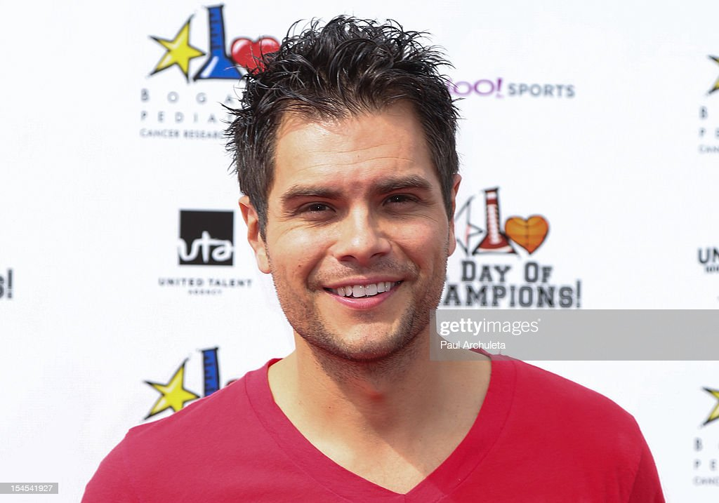 Actor Erik Valdez attends 'A Day Of Champions' benefiting the Bogart Pediatric Cancer Research Program at the Sports Museum of Los Angeles on October 21, 2012 in Los Angeles, California.