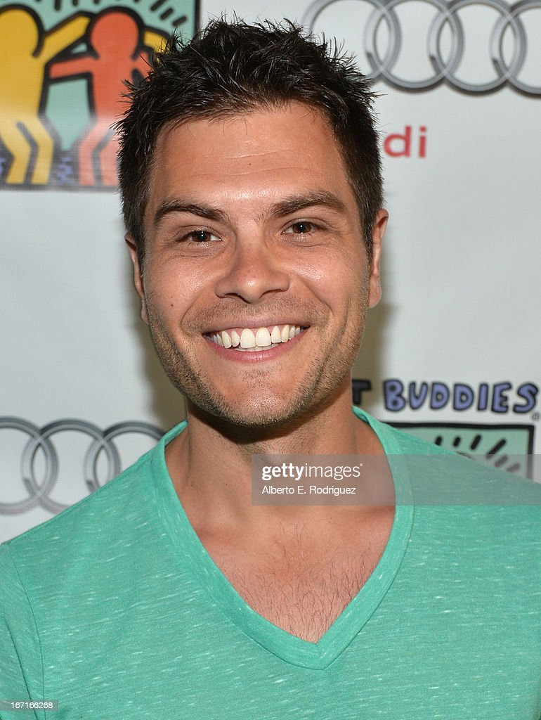Actor Erik Valdez attends the Best Buddies' Bowling For Buddies Event at Lucky Strike Lanes at L.A. Live on April 21, 2013 in Los Angeles, California.