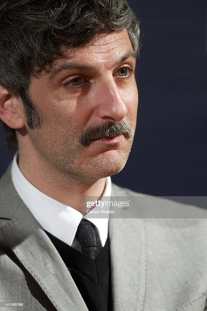 Actor Ernesto Alterio attends 'La Montana Rusa' photocall at Princesa cinema on March 12, 2012 in Madrid, Spain.
