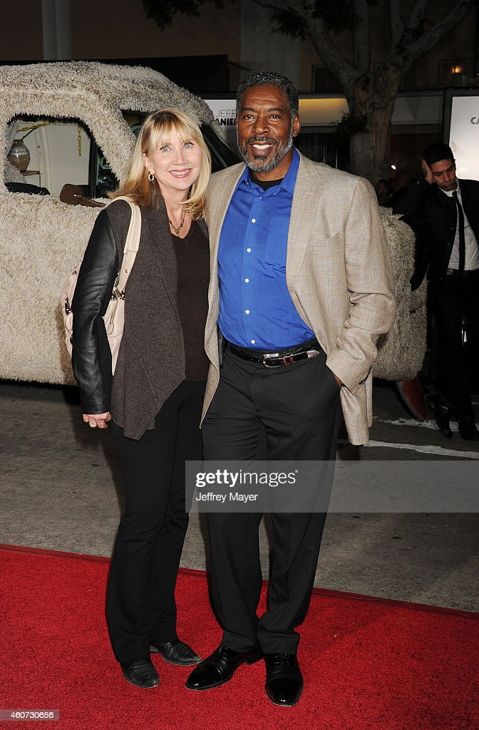 Actor Ernie Hudson and wife Linda Kingsberg arrive at the Los Angeles premiere of 'Dumb And Dumber To' at Regency Village Theatre on November 3 2014...