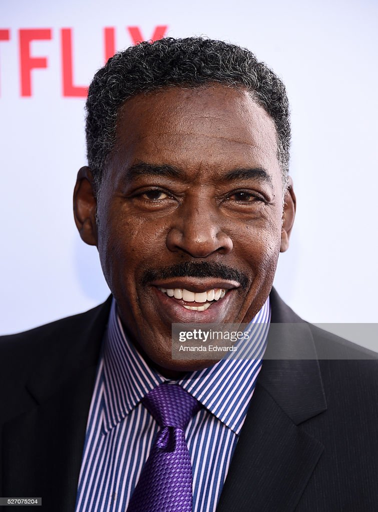 Actor Ernie Hudson arrives at the Netflix Original Series 'Grace & Frankie' Season 2 premiere at the Harmony Gold Theater on May 1, 2016 in Los Angeles, California.