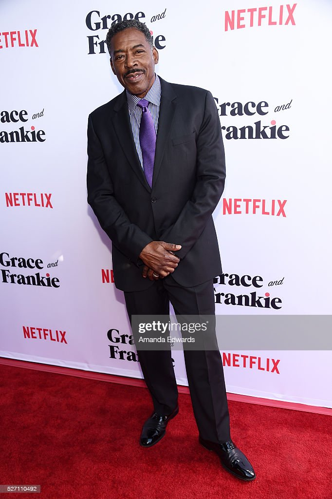 Actor <a gi-track='captionPersonalityLinkClicked' href=/galleries/search?phrase=Ernie+Hudson&family=editorial&specificpeople=241485 ng-click='$event.stopPropagation()'>Ernie Hudson</a> arrives at the Netflix Original Series 'Grace & Frankie' Season 2 premiere at the Harmony Gold Theater on May 1, 2016 in Los Angeles, California.