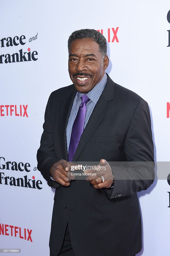 Actor <a gi-track='captionPersonalityLinkClicked' href=/galleries/search?phrase=Ernie+Hudson&family=editorial&specificpeople=241485 ng-click='$event.stopPropagation()'>Ernie Hudson</a> arrives at the Netflix Original Series 'Grace & Frankie' Season 2 premiere at Harmony Gold on May 1, 2016 in Los Angeles, California.