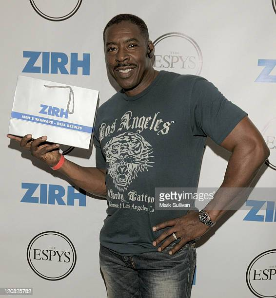 Actor Ernie Hudson attends ESPY ZIRH Men's Skin Care Gifting Lounge on July 15 2008 in Los Angeles California