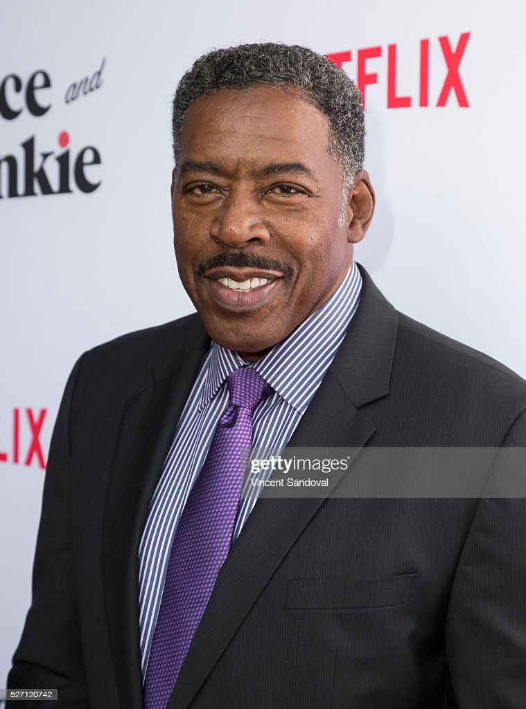 Actor <a gi-track='captionPersonalityLinkClicked' href=/galleries/search?phrase=Ernie+Hudson&family=editorial&specificpeople=241485 ng-click='$event.stopPropagation()'>Ernie Hudson</a> attends Netflix Original Series 'Grace & Frankie' season 2 premiere at Harmony Gold on May 1, 2016 in Los Angeles, California.