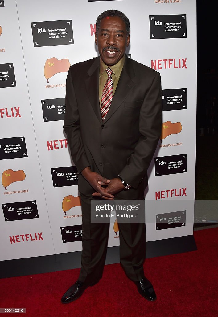 Actor Ernie Hudson attends the 2015 IDA Documentary Awards at Paramount Studios on December 5 2015 in Hollywood California