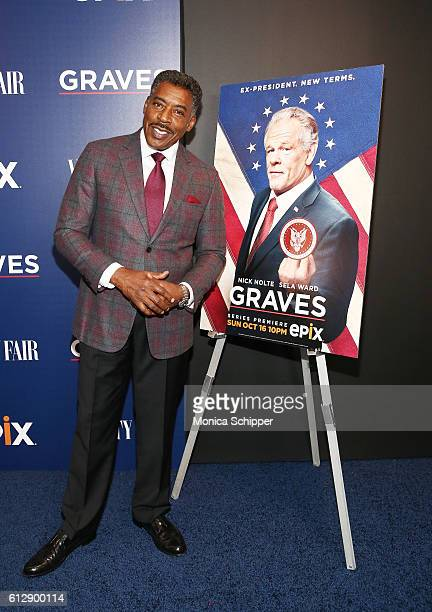 Actor Ernie Hudson attends the EPIX Graves NY premiere on October 5 2016 in New York City