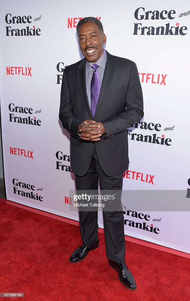 Actor <a gi-track='captionPersonalityLinkClicked' href=/galleries/search?phrase=Ernie+Hudson&family=editorial&specificpeople=241485 ng-click='$event.stopPropagation()'>Ernie Hudson</a> attends the premiere of Season 2 of the Netflix Original Series 'Grace & Frankie' at Harmony Gold on May 1, 2016 in Los Angeles, California.