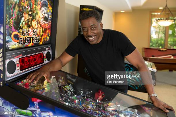 Actor Ernie Hudson is photographed for Closer Weekly Magazine on July 5 2017 at home in Minnesota Hudson did the voice for the Ghostbusters pinball...