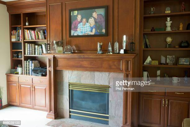 Actor Ernie Hudson's home is photographed for Closer Weekly Magazine on July 5 2017 in Minnesota