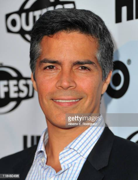 Actor Esai Morales arrives to the 2011 Outfest Opening Night Gala of 'Gun Hill Road' on July 7 2011 in Los Angeles California