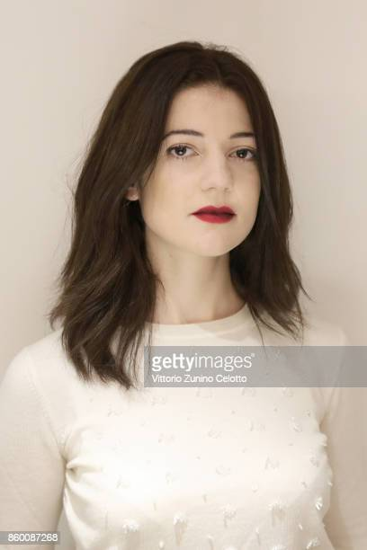 Actor Esther Garrel is photographed during the 61st BFI London Film Festival on October 9 2017 in London England