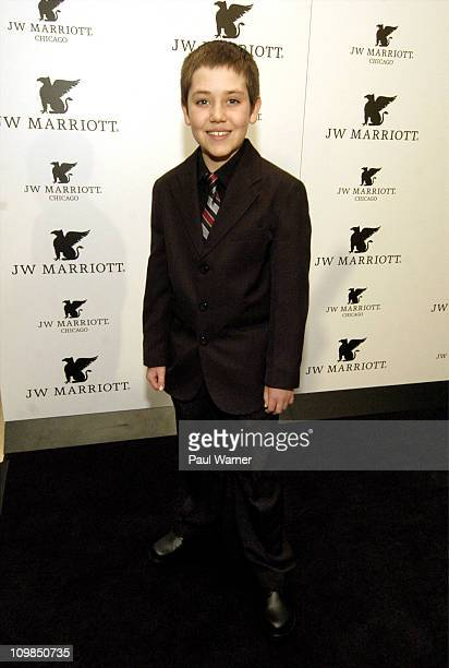 Actor Ethan Cutkosky attends the grand opening of the JW Marriott Chicago on March 7 2011 in Chicago Illinois