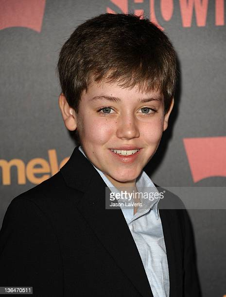 Actor Ethan Cutkosky attends the season 2 premiere of 'Shameless' at Haus Los Angeles on January 5 2012 in Los Angeles California