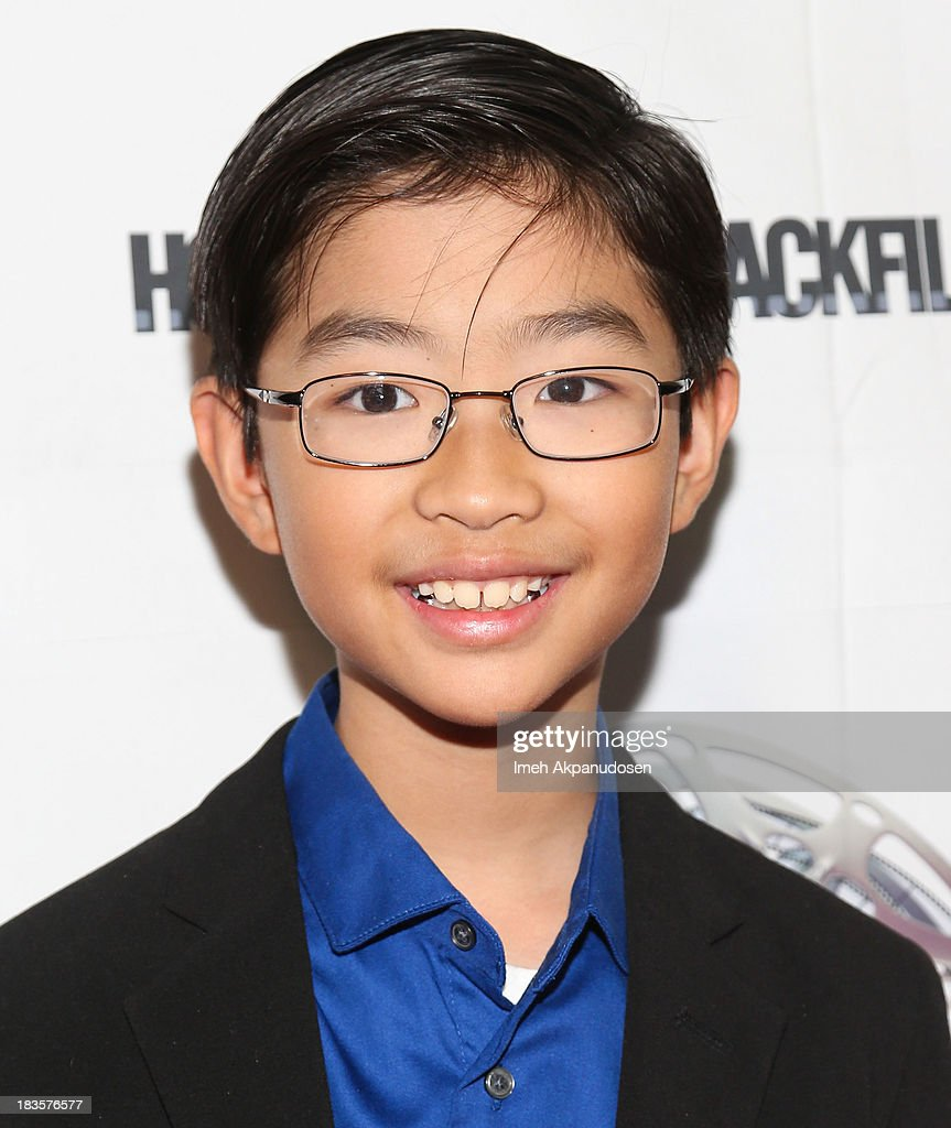 Actor Ethan Dizon attends the closing night for the Hollywood Black Film Festival (HBFF) at The Ricardo Montalban Theatre on October 6, 2013 in Hollywood, California.