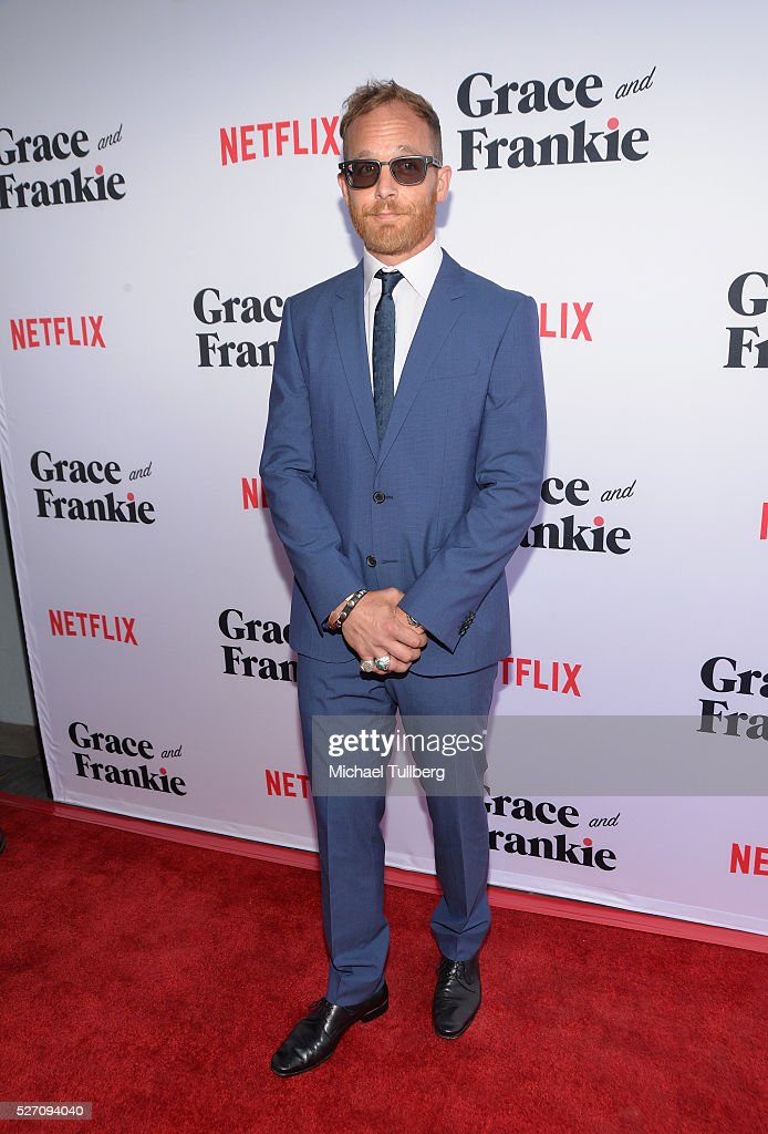 Actor <a gi-track='captionPersonalityLinkClicked' href=/galleries/search?phrase=Ethan+Embry&family=editorial&specificpeople=549673 ng-click='$event.stopPropagation()'>Ethan Embry</a> attends the premiere of Season 2 of the Netflix Original Series 'Grace & Frankie' at Harmony Gold on May 1, 2016 in Los Angeles, California.