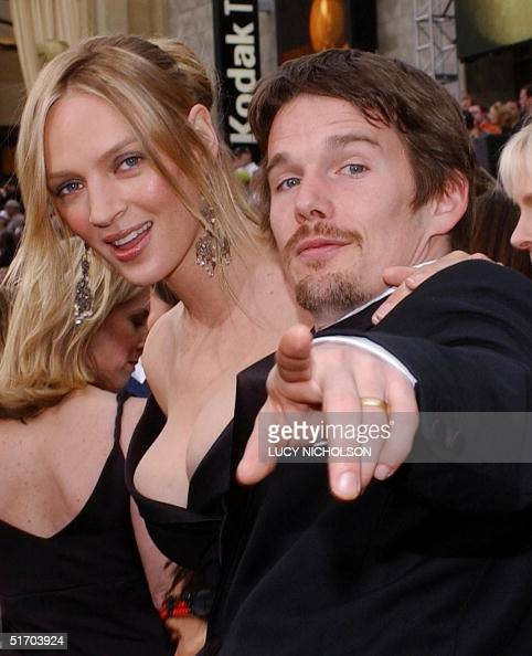 Ethan Hawke [& Wife] Stock Photos and Pictures | Getty Images