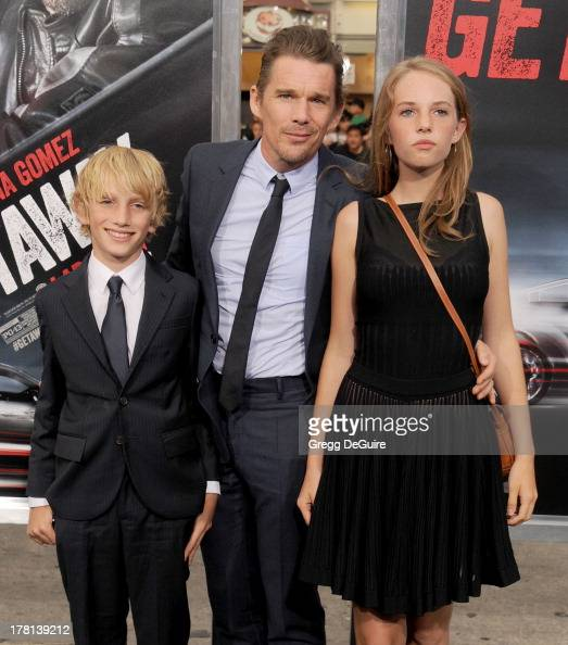 Actor Ethan Hawke and ...