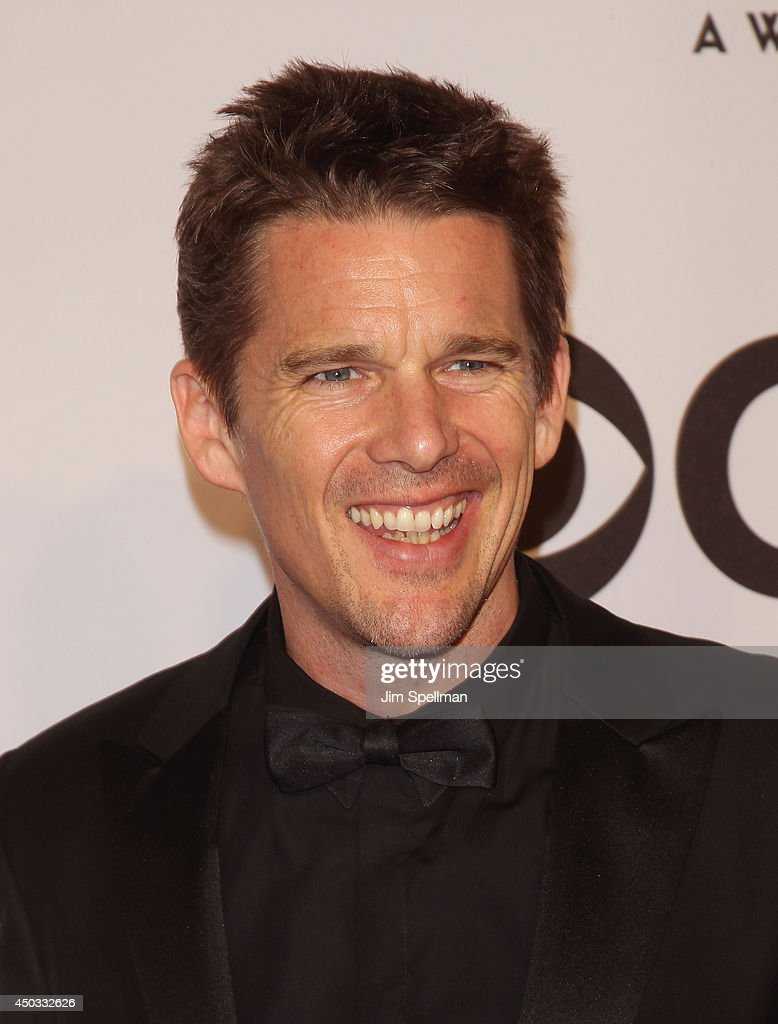 Actor <a gi-track='captionPersonalityLinkClicked' href=/galleries/search?phrase=Ethan+Hawke&family=editorial&specificpeople=178274 ng-click='$event.stopPropagation()'>Ethan Hawke</a> attends American Theatre Wing's 68th Annual Tony Awards at Radio City Music Hall on June 8, 2014 in New York City.