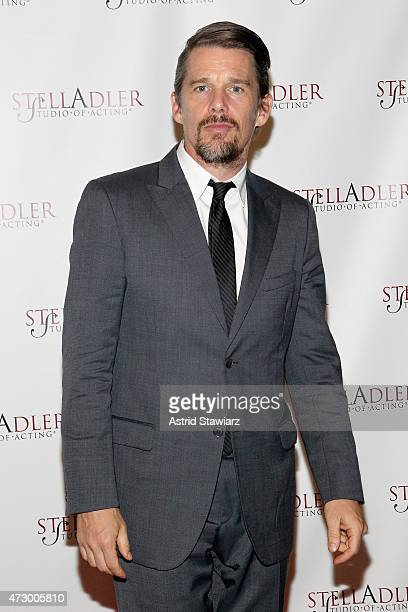 Actor Ethan Hawke attends Stella By Starlight The Stella Adler Studio Of Acting's 10th Annual Fundraising Gala on May 11 2015 in New York City