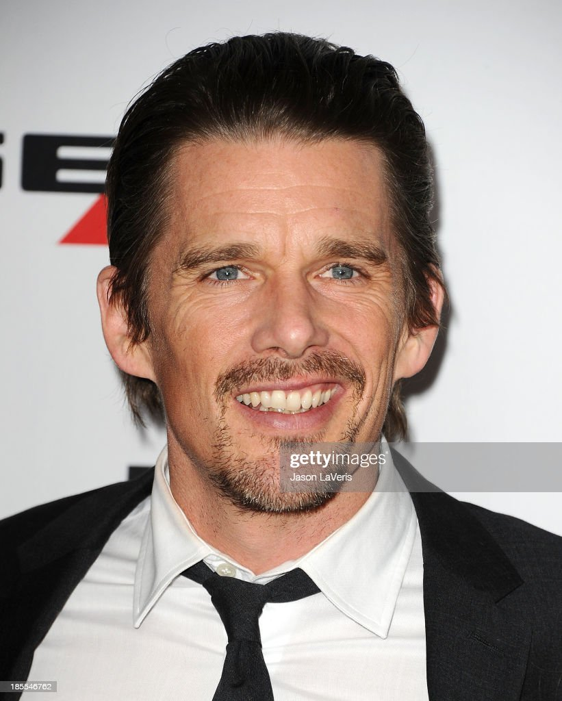 Actor <a gi-track='captionPersonalityLinkClicked' href=/galleries/search?phrase=Ethan+Hawke&family=editorial&specificpeople=178274 ng-click='$event.stopPropagation()'>Ethan Hawke</a> attends the 17th annual Hollywood Film Awards at The Beverly Hilton Hotel on October 21, 2013 in Beverly Hills, California.