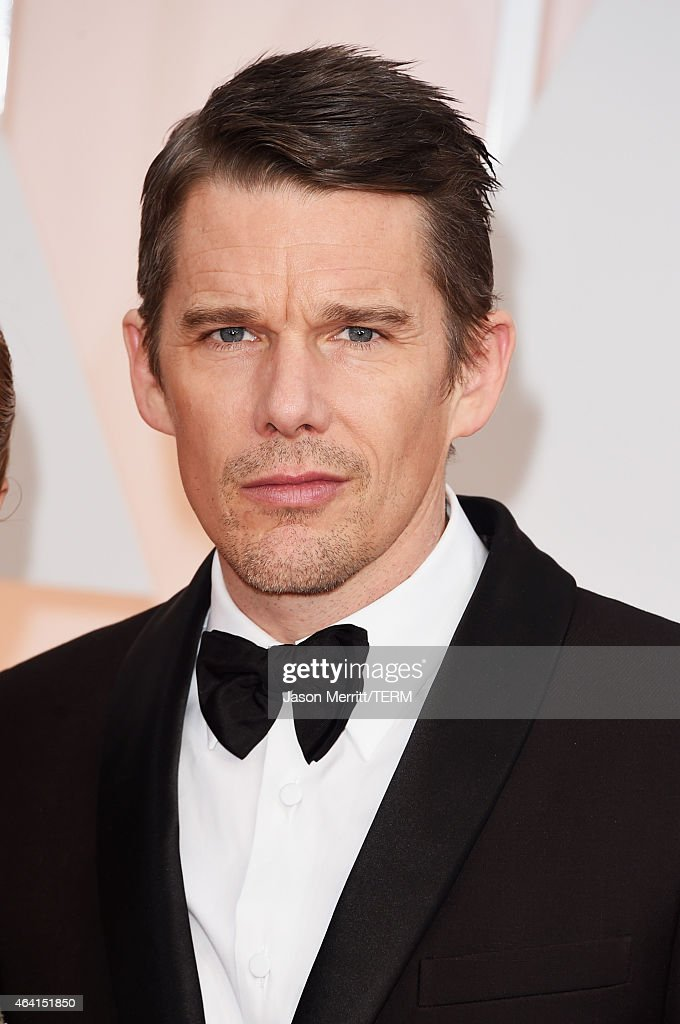 Actor <a gi-track='captionPersonalityLinkClicked' href=/galleries/search?phrase=Ethan+Hawke&family=editorial&specificpeople=178274 ng-click='$event.stopPropagation()'>Ethan Hawke</a> attends the 87th Annual Academy Awards at Hollywood & Highland Center on February 22, 2015 in Hollywood, California.