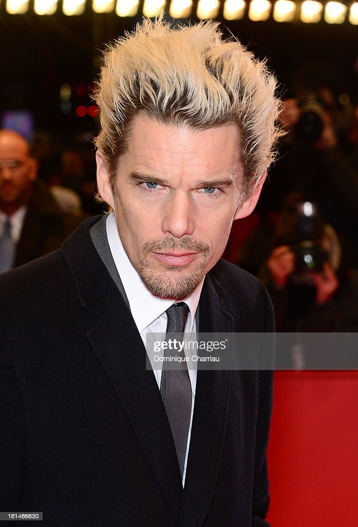 Actor Ethan Hawke attends the 'Before Midnight' Premiere during the 63rd Berlinale International Film Festival at the Berlinale Palast on February 11, 2013 in Berlin, Germany.