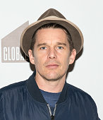 Actor Ethan Hawke attends the Bronxwrites' Poetry Slam finals at Joe's Pub on February 2 2016 in New York City