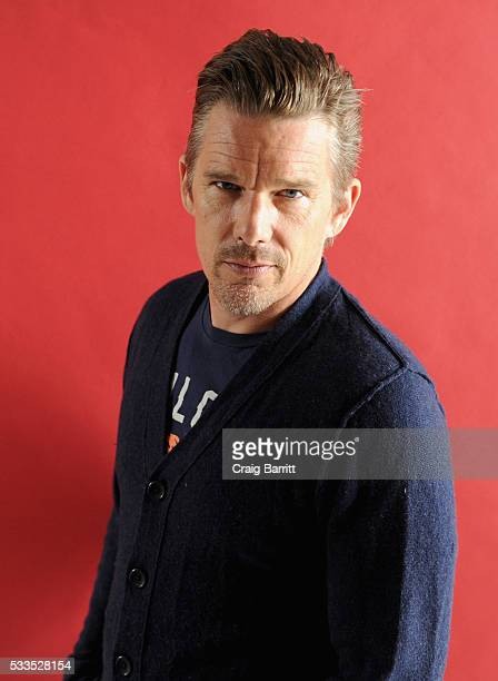 Actor Ethan Hawke attends the Ethan Hawke In Conversation interview at the Vulture Festival The Standard at The Standard on May 22 2016 in New York...