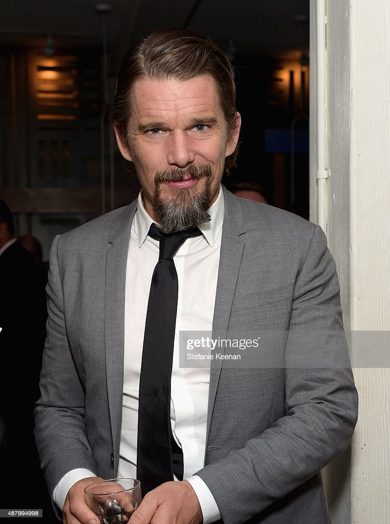 Actor <a gi-track='captionPersonalityLinkClicked' href=/galleries/search?phrase=Ethan+Hawke&family=editorial&specificpeople=178274 ng-click='$event.stopPropagation()'>Ethan Hawke</a> attends the Maggie's Plan TIFF party hosted by GREY GOOSE Vodka at Byblos on September 12, 2015 in Toronto, Canada.