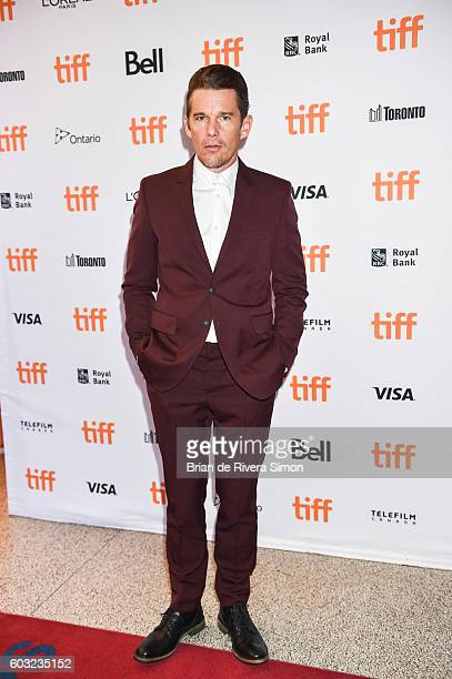 Actor Ethan Hawke attends the 'Maudie' premiere during 2016 Toronto International Film Festival at The Elgin on September 12 2016 in Toronto Canada