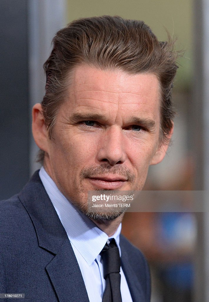 Actor Ethan Hawke attends the premiere of 'Getaway' presented by Warner Bros. Pictures at Regency Village Theatre on August 26, 2013 in Westwood, California.