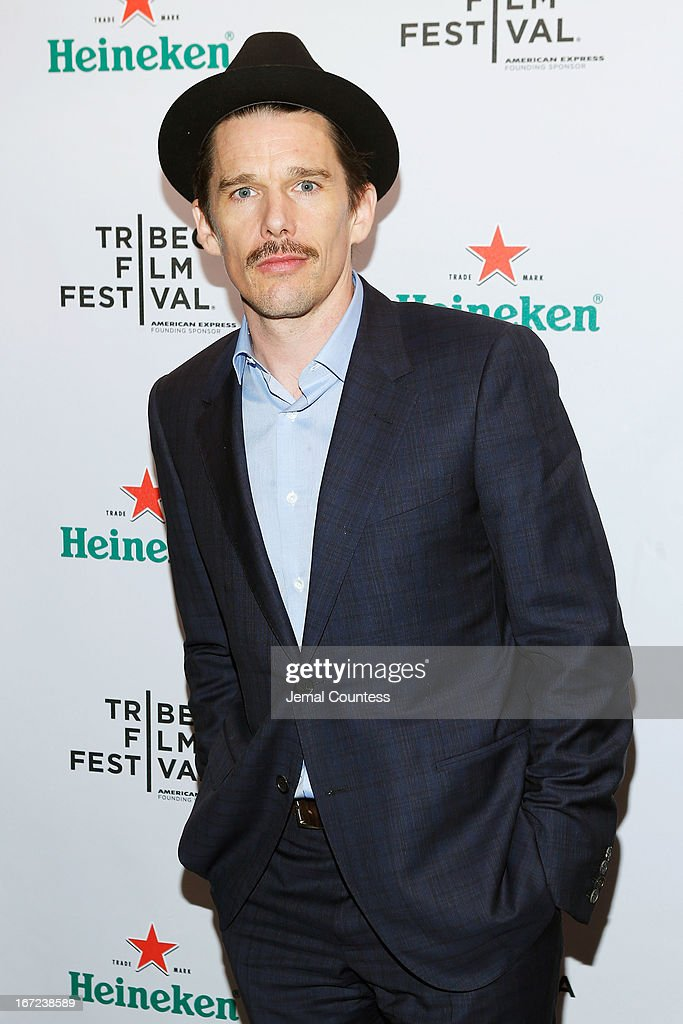 Actor Ethan Hawke attends the Tribeca Film Festival 2013 After Party 'Before Midnight' sponsored by Heineken on April 22, 2013 in New York City.