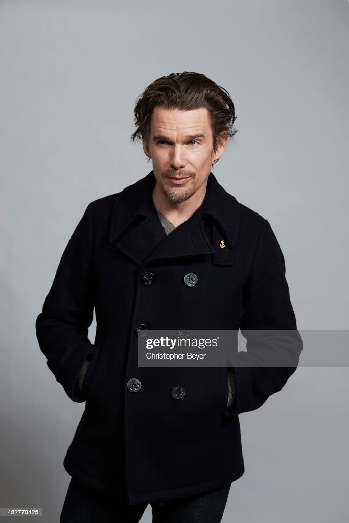 Actor Ethan Hawke is photographed for Entertainment Weekly Magazine on January 25, 2014 in Park City, Utah.