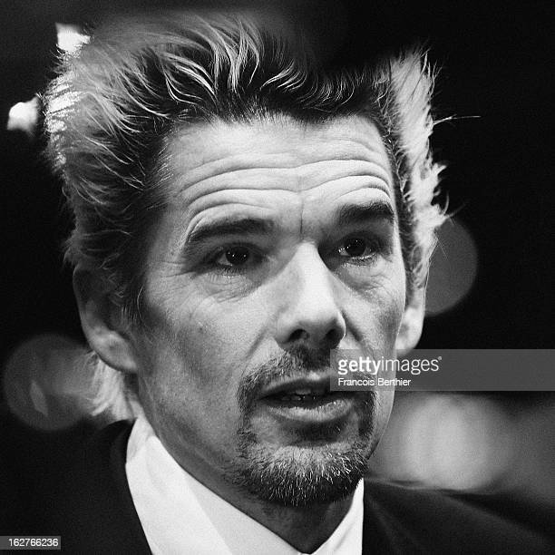 Actor Ethan Hawke is photographed for Self Assignment on February 8 2013 in Berlin Germany