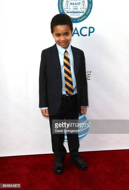 Actor Ethan Hutchison attends the 48th NAACP Image Awards at Pasadena Civic Auditorium on February 11 2017 in Pasadena California