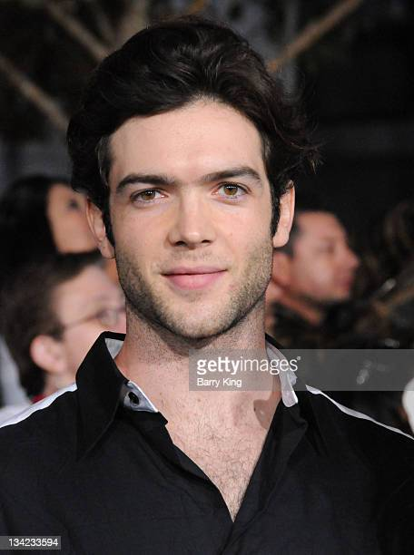 Actor Ethan Peck arrives at the Los Angeles Premiere 'The Twilight Saga Breaking Dawn Part 1' at Nokia Theatre LA Live on November 14 2011 in Los...