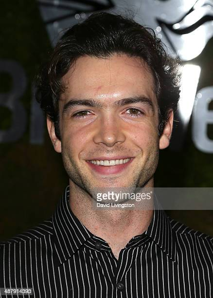 Actor Ethan Peck attends A Villainous Affair presented by Jaguar North America and BritWeek at the London West Hollywood on May 2 2014 in West...