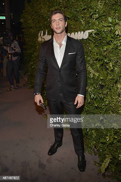 Actor Ethan Peck attends as Ferragamo Celebrates 100 Years in Hollywood at the newly unveiled Ferragamo boutique on September 9 2015 in Beverly Hills...