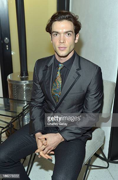 Actor Ethan Peck attends Chloe Los Angeles Fashion Show Dinner hosted by Clare Waight Keller January Jones and Lisa Love on October 29 2013 in Los...