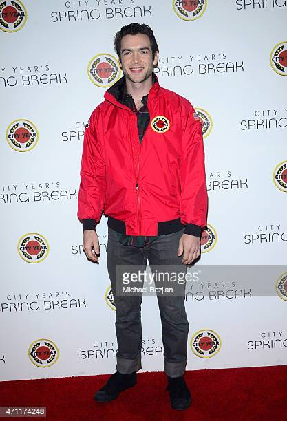 Actor Ethan Peck attends City Year Los Angeles Spring Break at Sony Studios on April 25 2015 in Los Angeles California