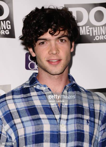 Actor Ethan Peck attends DoSomethingorg's 'Power of Youth' event at Madame Tussauds on August 8 2009 in Hollywood California