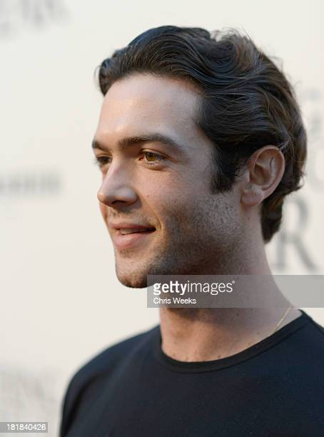 Actor Ethan Peck attends the advanced screening of 'Nothing Left To Fear' presented by Anchor Bay and Fandango at ArcLight Cinemas on September 25...