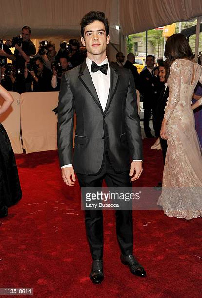 Actor Ethan Peck attends the 'Alexander McQueen Savage Beauty' Costume Institute Gala at The Metropolitan Museum of Art on May 2 2011 in New York City