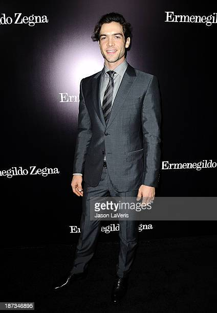 Actor Ethan Peck attends the Ermenegildo Zegna Boutique grand opening on November 7 2013 in Beverly Hills California