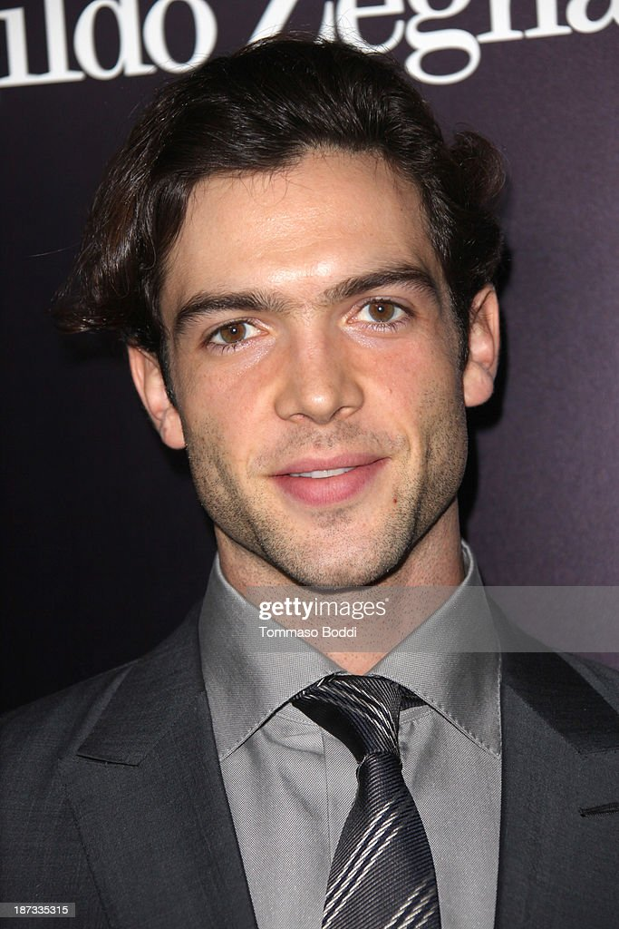 Actor <a gi-track='captionPersonalityLinkClicked' href=/galleries/search?phrase=Ethan+Peck&family=editorial&specificpeople=5294846 ng-click='$event.stopPropagation()'>Ethan Peck</a> attends the Ermenegildo Zegna boutique Rodeo Drive grand opening held at Ermenegildo Zegna Boutique on November 7, 2013 in Beverly Hills, California.