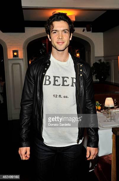 Actor Ethan Peck attends the Vogue 'Jean Stories' dinner hosted by Sally Singer Lisa Love Greg Chait Jennifer Meyer Scott Sternberg at AOC on April 2...