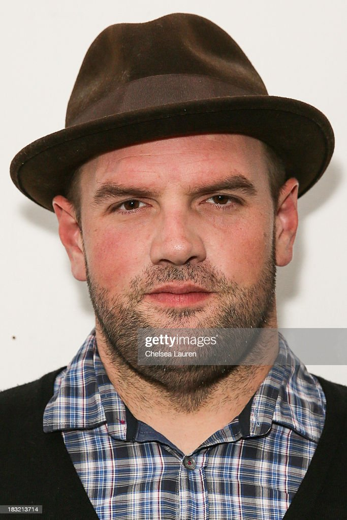 Actor <a gi-track='captionPersonalityLinkClicked' href=/galleries/search?phrase=Ethan+Suplee&family=editorial&specificpeople=585749 ng-click='$event.stopPropagation()'>Ethan Suplee</a> attends the opening reception for Mercedes Helnwein's exhibit 'The Trouble With Dreams' at Merry Karnowsky Gallery on October 5, 2013 in Los Angeles, California.