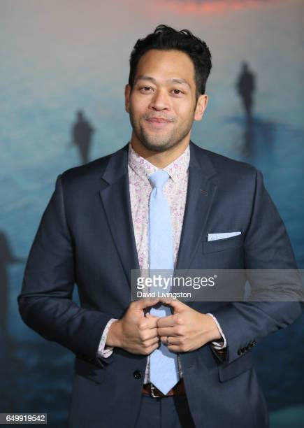 Actor Eugene Cordero attends the premiere of Warner Bros Pictures' 'Kong Skull Island' at Dolby Theatre on March 8 2017 in Hollywood California
